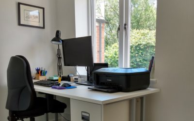 Room transformation: from old office and WC to new office